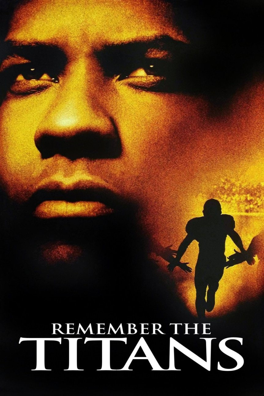 """Poster for the movie """"Remember the Titans"""""""