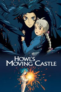 "Poster for the movie ""Howl's Moving Castle"""