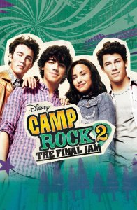 "Poster for the movie ""Camp Rock 2: The Final Jam"""