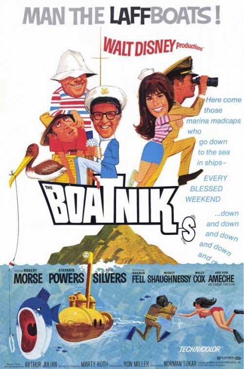 "Poster for the movie ""The Boatniks"""