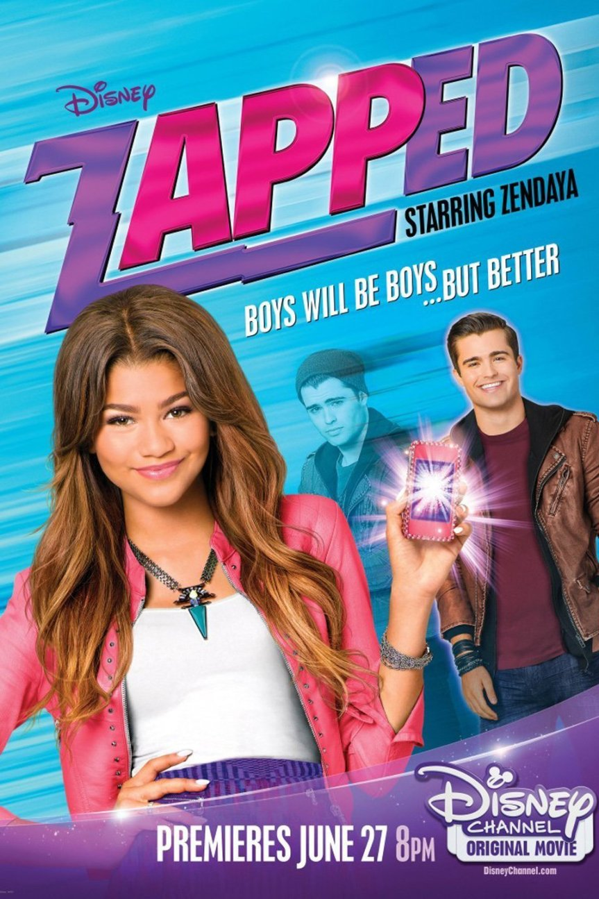 "Poster for the movie ""Zapped"""