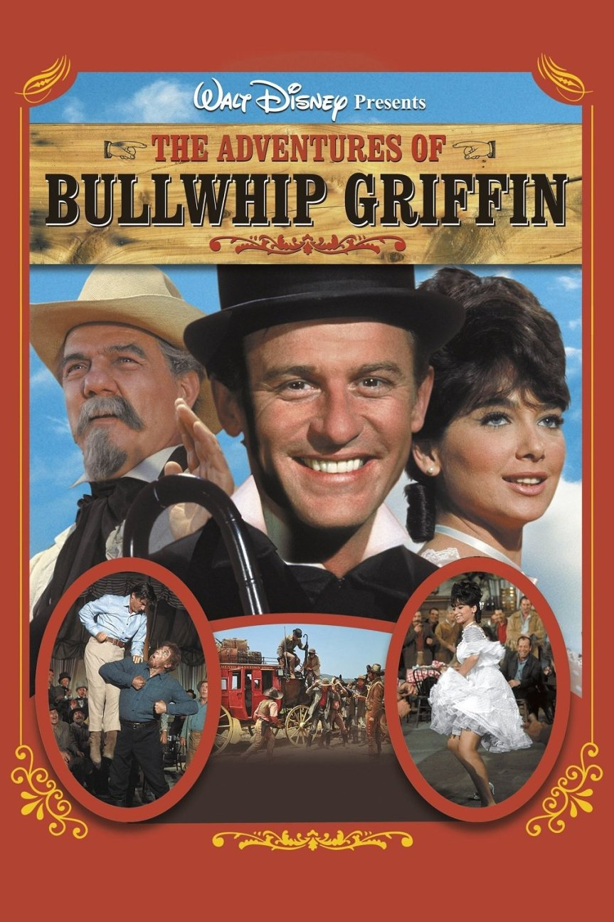 """Poster for the movie """"The Adventures of Bullwhip Griffin"""""""