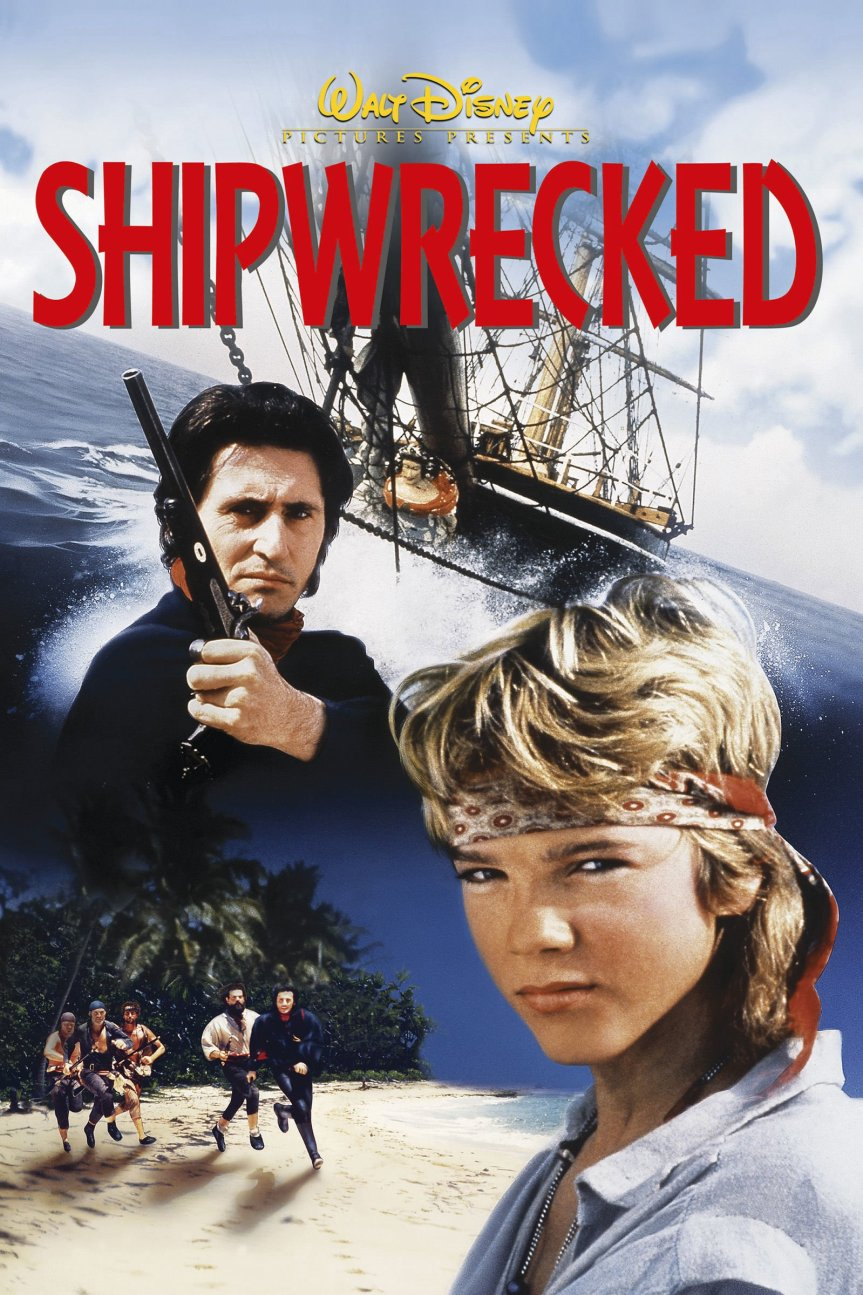 "Poster for the movie ""Shipwrecked"""