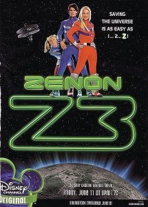 "Poster for the movie ""Zenon: Z3"""