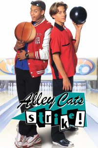 "Poster for the movie ""Alley Cats Strike"""