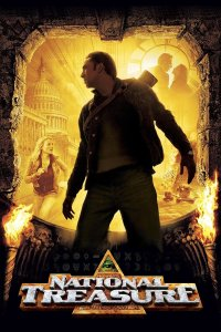 "Poster for the movie ""National Treasure"""