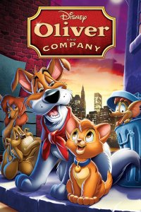 "Poster for the movie ""Oliver & Company"""