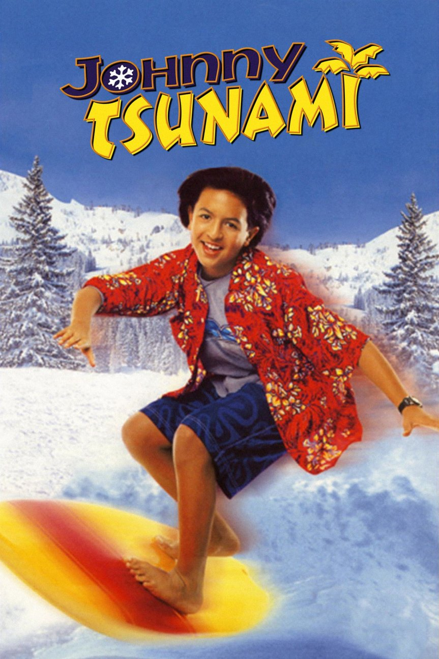"""Poster for the movie """"Johnny Tsunami"""""""