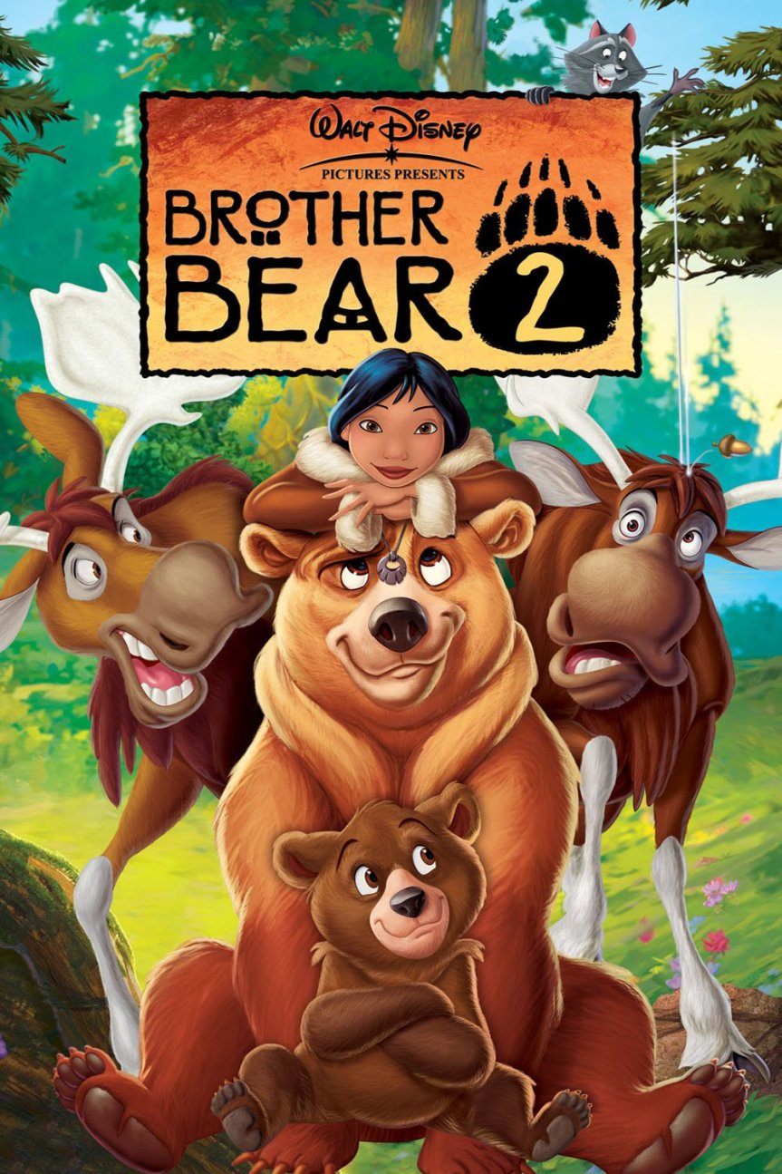 "Poster for the movie ""Brother Bear 2"""