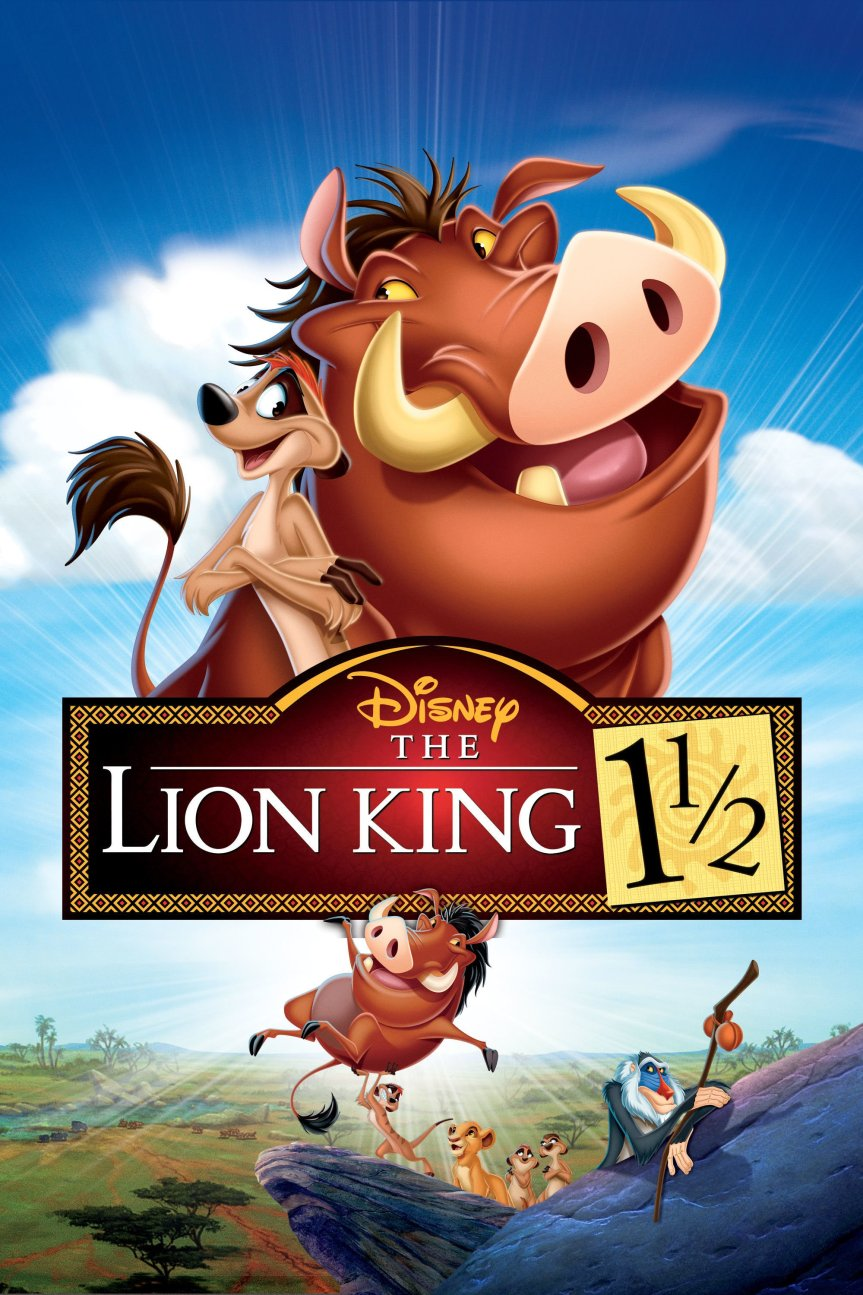 """Poster for the movie """"The Lion King 1½"""""""