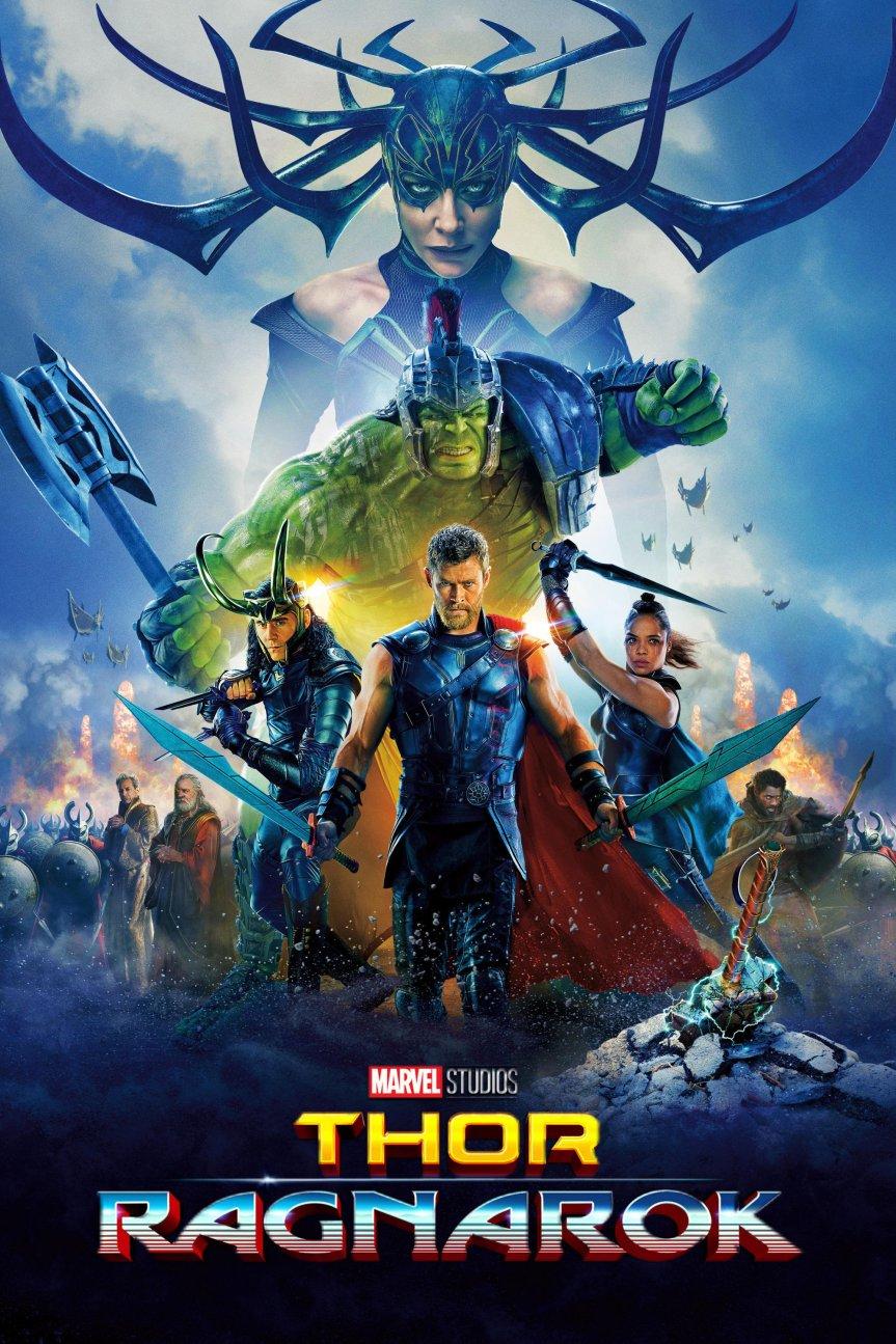 """Poster for the movie """"Thor: Ragnarok"""""""