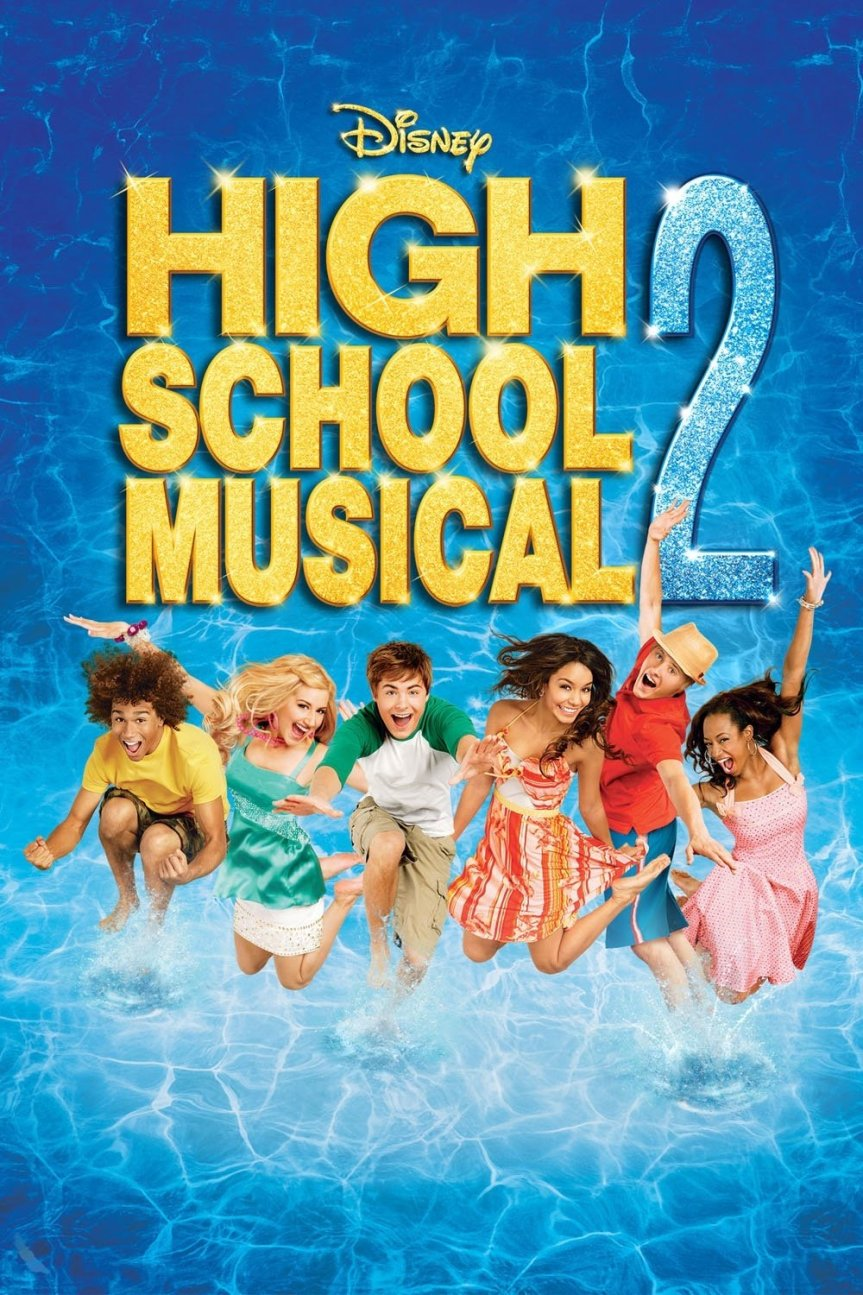 """Poster for the movie """"High School Musical 2"""""""