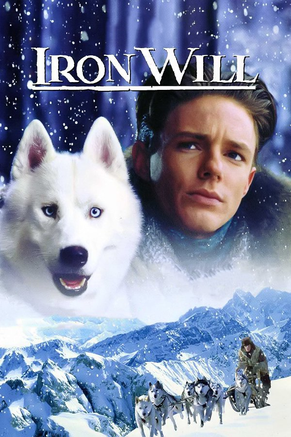 "Poster for the movie ""Iron Will"""