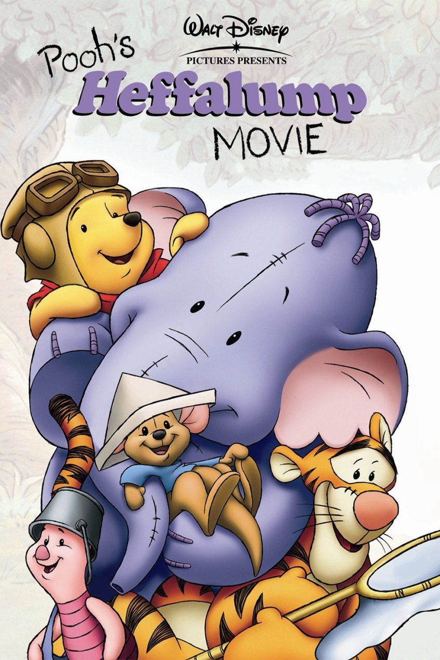"Poster for the movie ""Pooh's Heffalump Movie"""