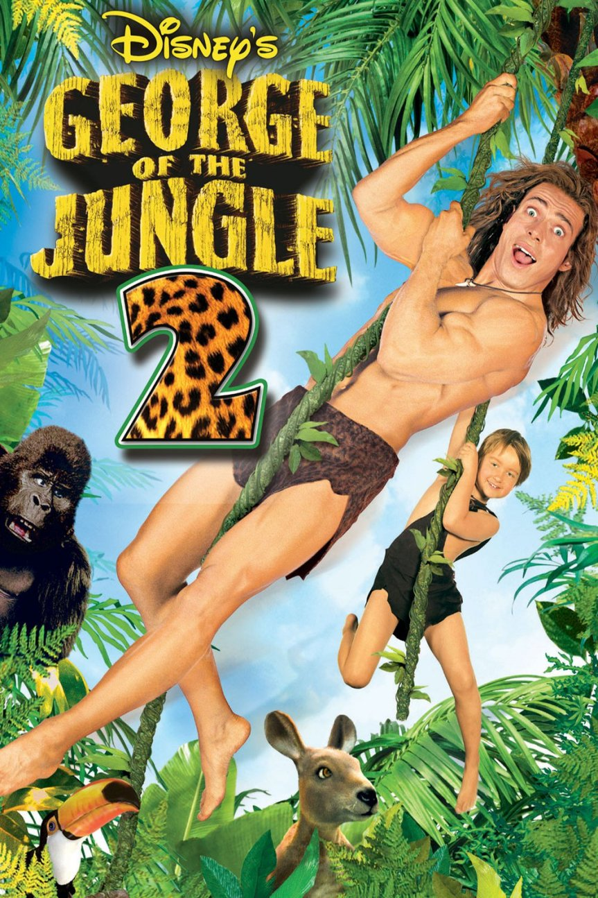 """Poster for the movie """"George of the Jungle 2"""""""