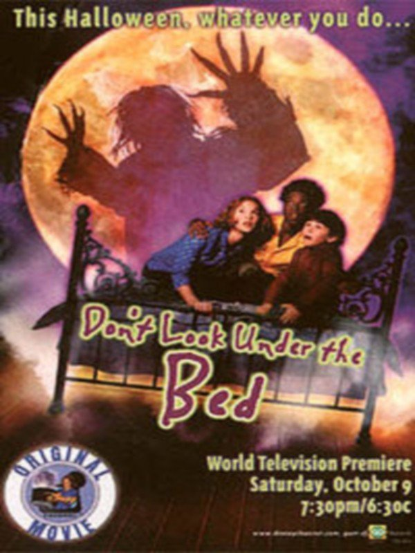"""Poster for the movie """"Don't Look Under the Bed"""""""