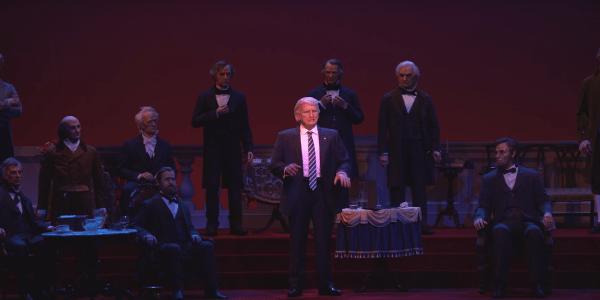 Hall of Presidents in The Magic Kingdom Now Has Animatronic Donald Trump