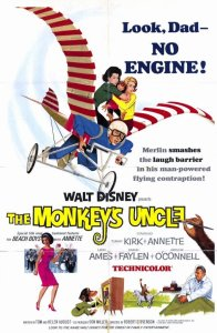 "Poster for the movie ""The Monkey's Uncle"""