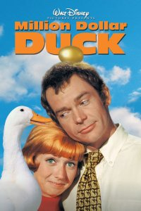 "Poster for the movie ""The Million Dollar Duck"""
