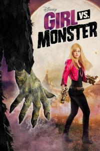 "Poster for the movie ""Girl vs. Monster"""