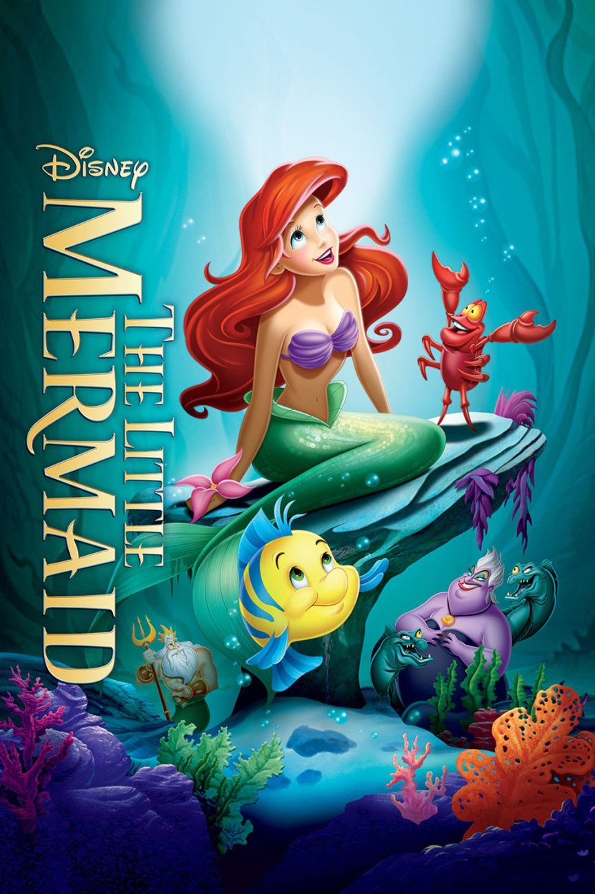 "Poster for the movie ""The Little Mermaid"""