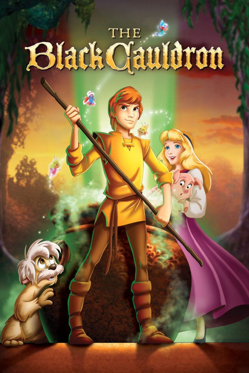 """Poster for the movie """"The Black Cauldron"""""""