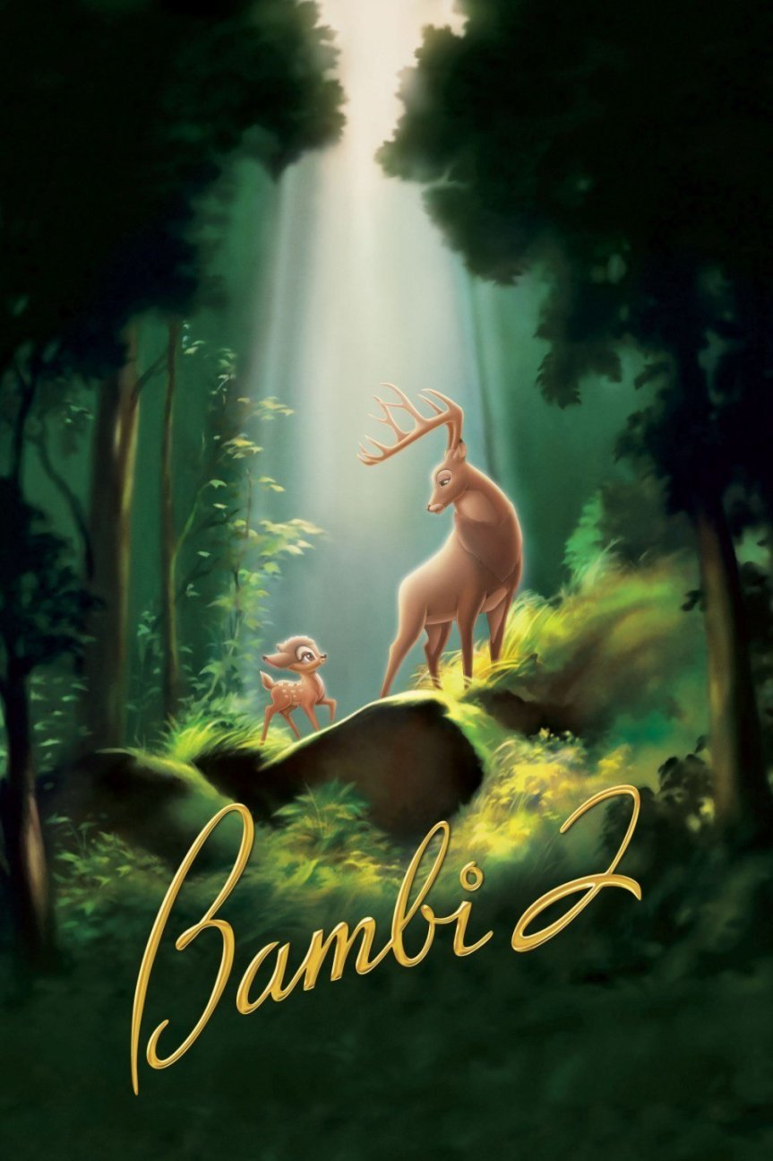 """Poster for the movie """"Bambi II"""""""