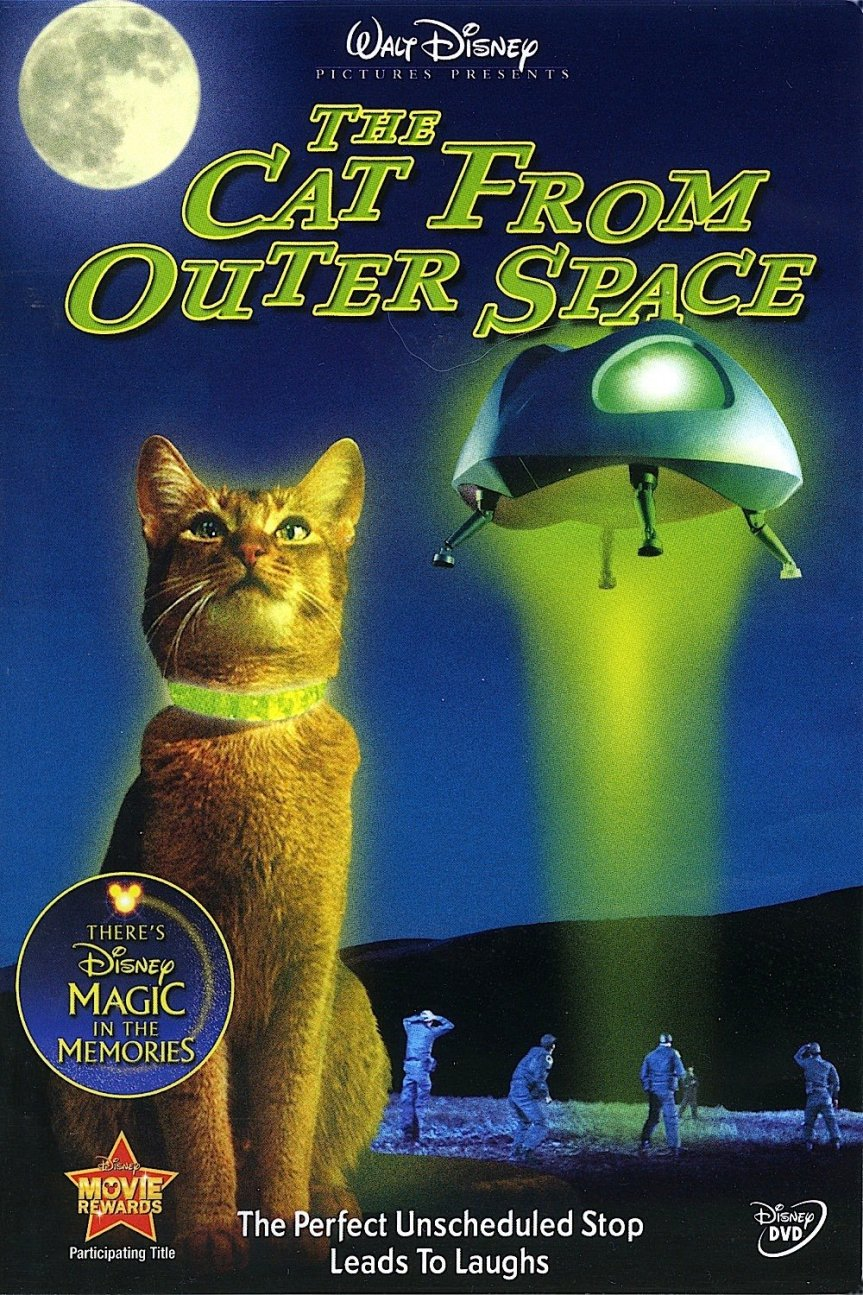 "Poster for the movie ""The Cat from Outer Space"""