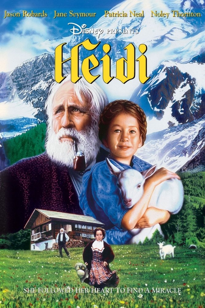 "Poster for the movie ""Heidi"""