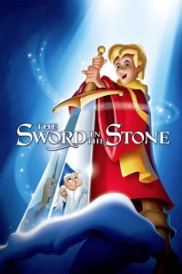 "Poster for the movie ""The Sword in the Stone"""