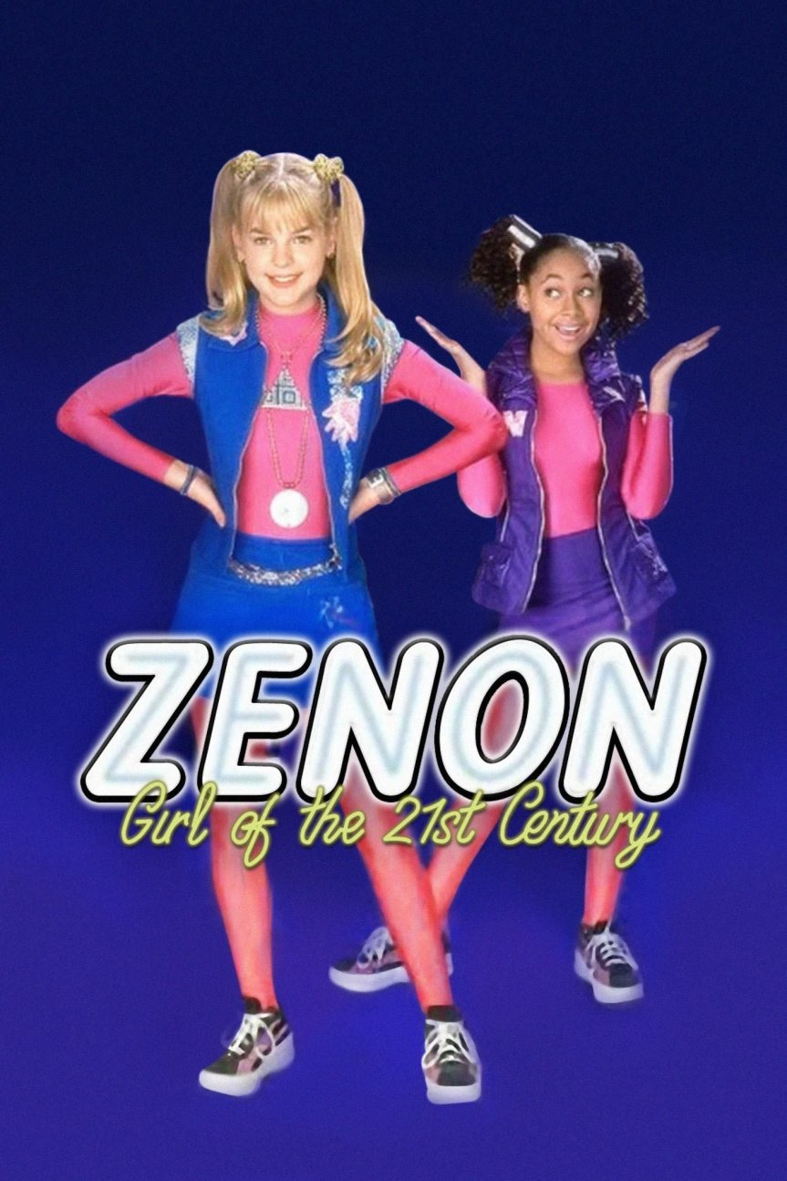 """Poster for the movie """"Zenon: Girl of the 21st Century"""""""