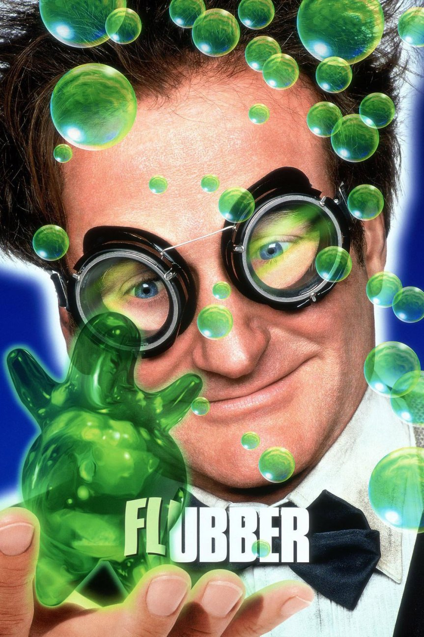 "Poster for the movie ""Flubber"""
