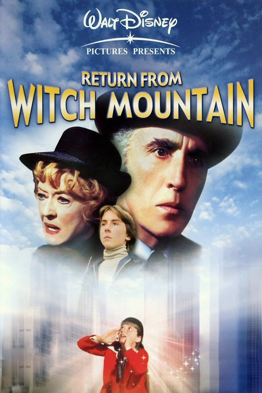 "Poster for the movie ""Return from Witch Mountain"""