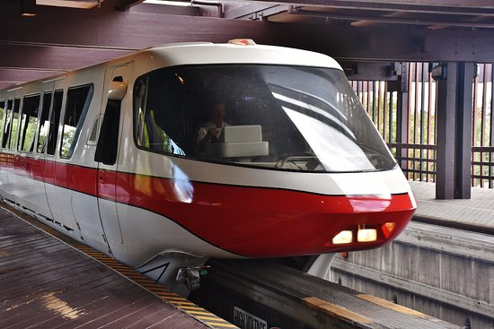 Door of Monorail at Disney World Dangerously Opens Up While in Transit