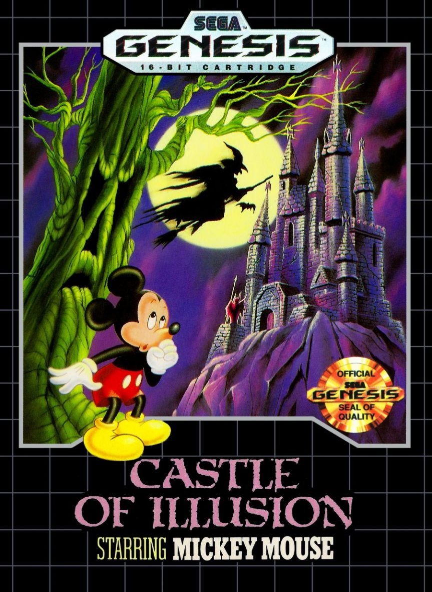 """List of Entries in the """"Illusion"""" Series, and Other Disney Videogames Made by Sega"""