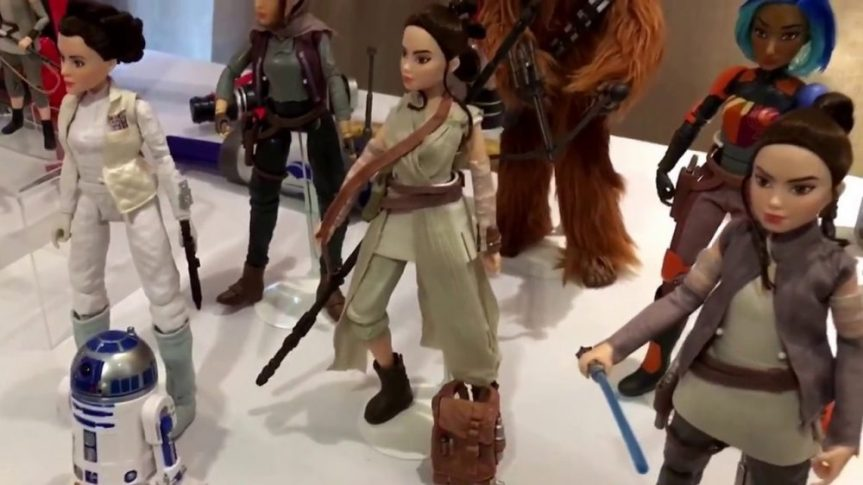 """Initial List of """"Star Wars: Forces of Destiny"""" Adventure Figures from Hasbro"""