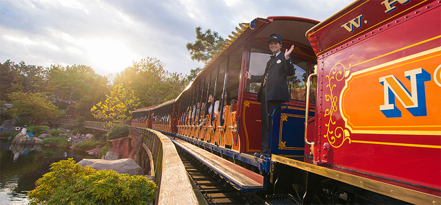 List of Rail Transports in and Around Tokyo Disney Resort