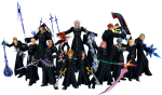 "List of Members of ""Kingdom Hearts"" Antagonist Group ""Organization XIII"""