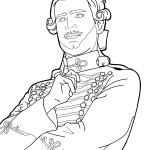 Harlequin – The Nutcracker and the Four Realms Coloring Pages