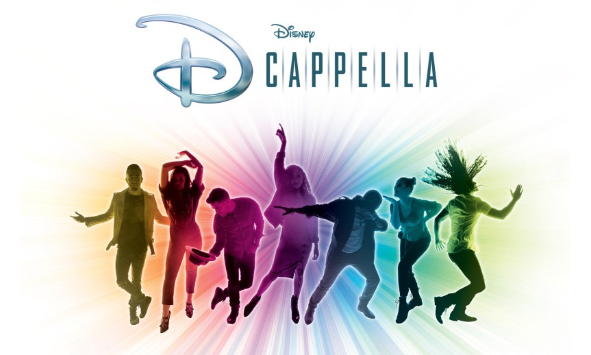 Album Song List for Upcoming Tour by Disney Music Singing Group DCappella