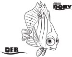Deb - Finding Dory Coloring Pages