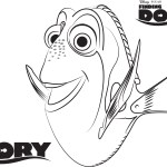 Dory – Finding Dory Coloring Pages