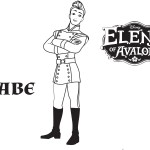 Gabe – Elena of Avalor Coloring Pages