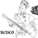 Francisco – Elena of Avalor Coloring Pages