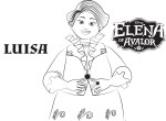 Luisa – Elena of Avalor Coloring Pages