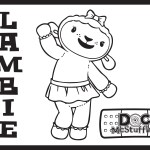 Lambie – Doc McStuffins Coloring Pages