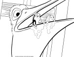 Nigel – Finding Nemo Coloring Pages