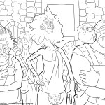 Viking Clan Leaders – Brave Coloring Pages