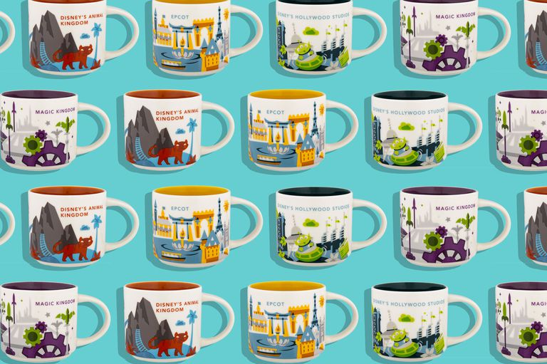 """List of Designs for Disney """"You Are Here"""" Souvenir Mugs from Starbucks on shopDisney"""