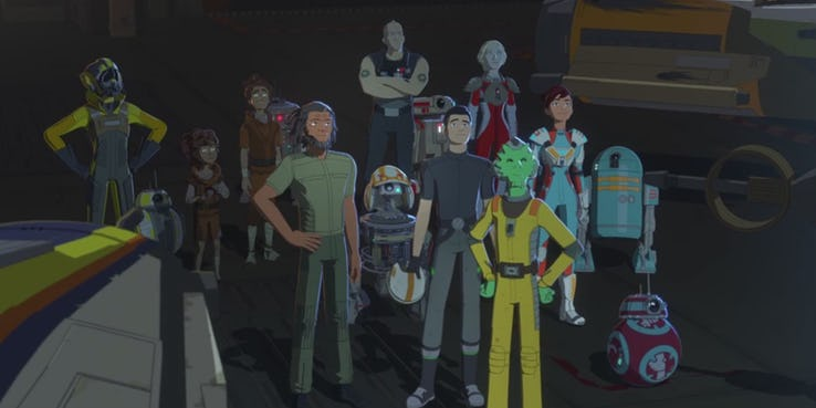 "Points for Discussion Regarding the Season 1 Finale of ""Star Wars Resistance"" on Disney Channel and XD"